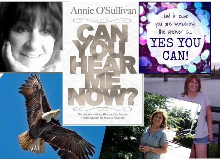 BLOG TALK RADIO  Can You Hear Me Now? Wtih Annie O'Sullivan.  Let have a conversation and show the world you can survive and thrive.
